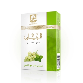 ALRAYAN Grape Mint Hookah Tobacco