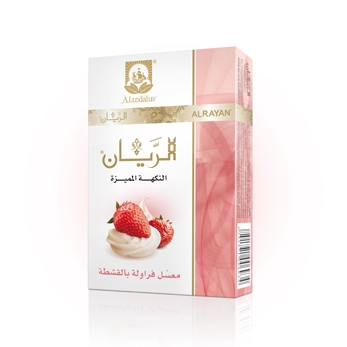 ALRAYAN Creamy Strawberry Hookah Tobacco