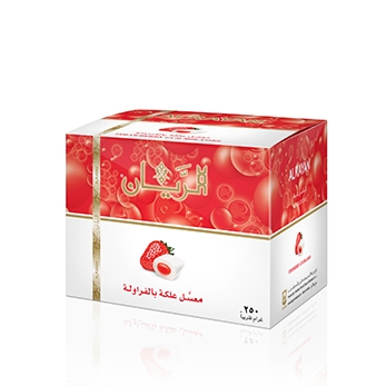 ALRAYAN Strawberry Gum Hookah Tobacco