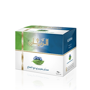 ALRAYAN Blueberry with mint Hookah Tobacco