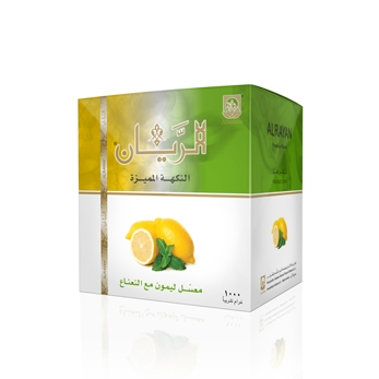 ALRAYAN Lemon Mint Hookah Tobacco